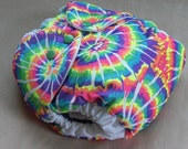 Waterproof Diaper Cover, Tie Dye