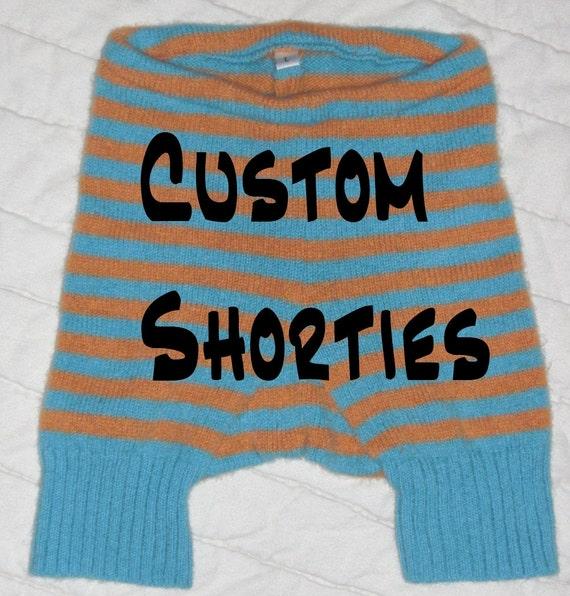 Custom Wool Shorties