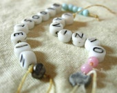 Custom Designed or Redesigned Baby Hospital I.D. Name Bracelet - great personalized gift for mom, grandma or daughter
