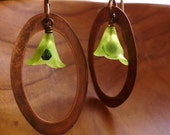 Verde Framed Earrings