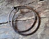 CLASSIC HOOPS...Copper Earrings 30mm