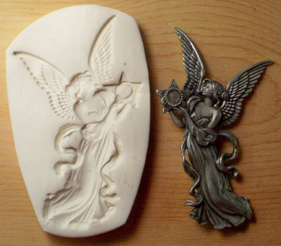 ANGEL 2 with a star CNS polymer clay mold