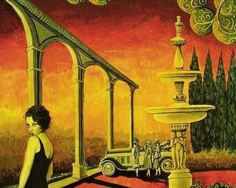 Deco Dame - Art Deco Goddess 8x10 print