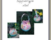 Sew-Mad Pattern - Happy Easter Egg Tote ... or Bowl (pdf )