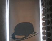 Bowler Hat Window Shade, 17-36 inches wide, 12 oz. vinyl