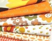 Large Fabric Bundle - Orange