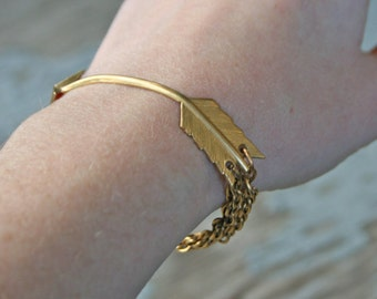 Broken Arrow Bracelet / Chain / Gift