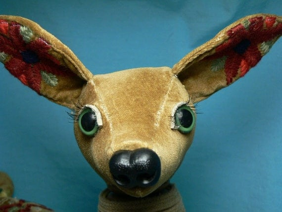 plush deer - Blitzen