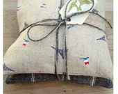 Spice and Lavender Sachets in Italian and Japanese Linen - Paris Style