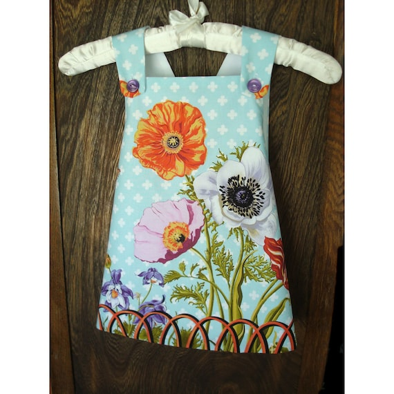 Botanical Smock - 3 years to 4 years - Speciality Fabric -