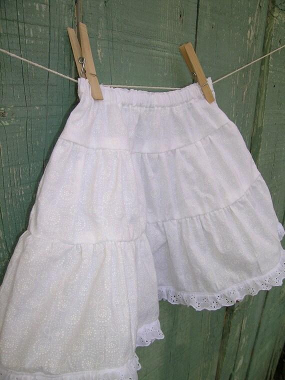 Petticoat Skirt - 2T - 3T Custom Sizes Available