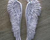 Snow White Angel Wings earrings