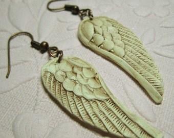 Antique Angel Wings earrings