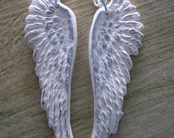 Snow White Angel Wings earrings
