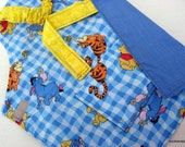 winnie the pooh handmade childs apron play toddler
