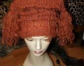 Warrior Witch in Winter Hat Cinnamon Doll