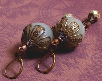 Art Deco Lantern Earrings