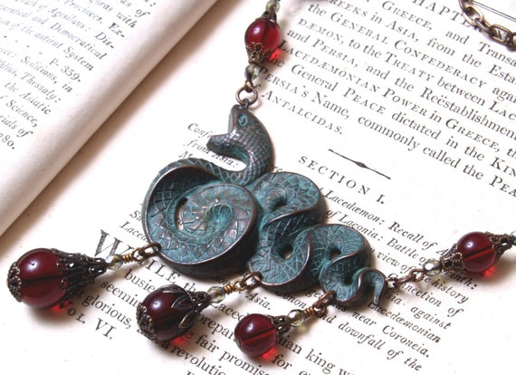 Lilith Serpent Necklace