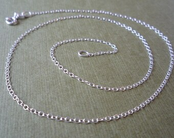 18 inch Delicate Cable Chain 46cm