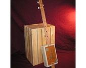 Cigar Box Guitar - 3 String Folk Acoustic Instrument