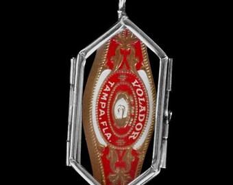 VIntage Cigar Label Pendant