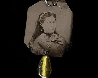 Tintype Pendant - REDUCED