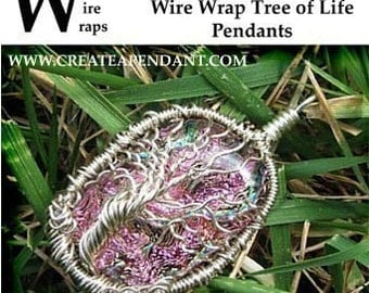 Wire Wrap Tree of Life Sculpture Pendant Jewelry Instructional Lesson Technique Tutorial DVD