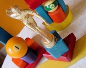 RANDOM TROPHIES vintage recycled trophy sculpture 1000 PIECES no. 26