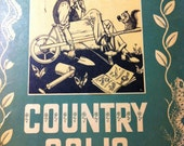 Country Colic The Weeders Digest 1944 Gorgeous Illustrations Antique Book