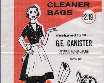 Kitschy 1950s Housewife GE Vacuum Bag