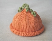 carrot top baby hat