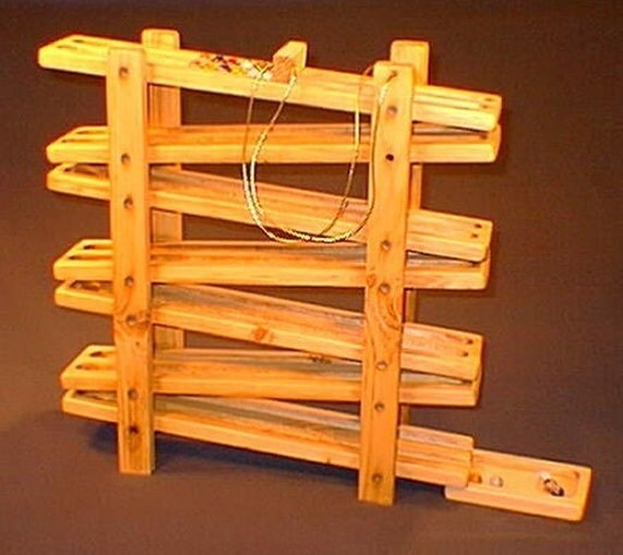 Reserved For Martha Bison Double Track Marble Run By