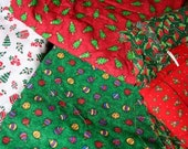 CHRISTMAS material--aprx 7 yards, stock up now