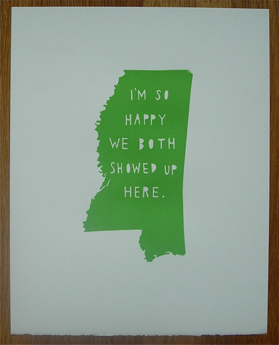 I'm So Happy--MISSISSIPPI