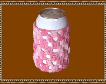 Pop-can Cover,Coral Swirl