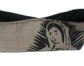virgin mary clutch purse