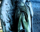 Cemetery Angel ACEO Magnet