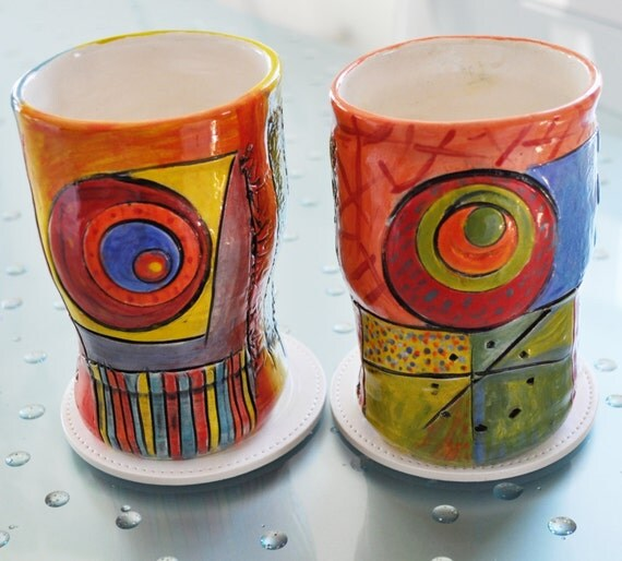 Circles Cups Tumbler set of 2