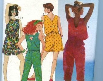 SIMPLICITY 9752  Capri Pants/Shorts/3 Tops - Misses Sizes 8-10