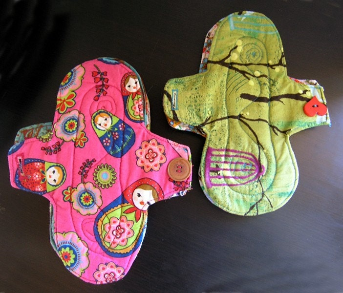 Diy Cloth Pads Tutorial: Sanitary Pads Easy SEWING PATTERN To Make Your Own Reusable