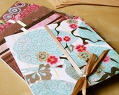frosk - set of 5 handmade cards with envelopes - 15x15cm - 6x6 inches