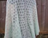 PATTERN, Whisper of Spring Lace Shawl, Knitting Pattern