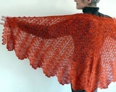 PATTERN - Maplewing Shawl Knit Pattern