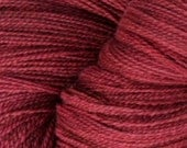 Laceweight Merino Wool Yarn, 2-ounce skein, Berry Beautiful
