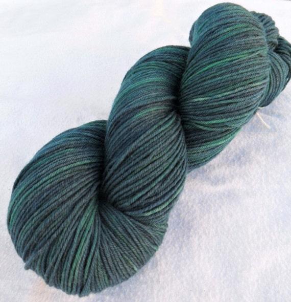 SOCK YARN, Merino and Nylon Sock Yarn, Spellbound colorway