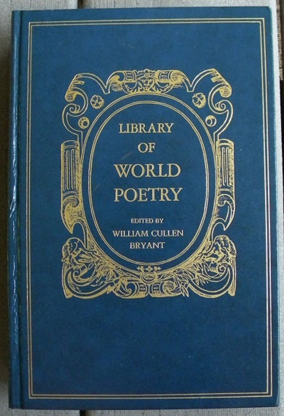 Library Of World Poetry 1970 Avenel Books Illustrated