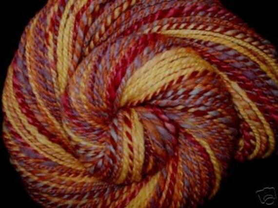 Extrasoft Hand Dyed Handspun Knitting Yarn - A Midsummer Night's Dream