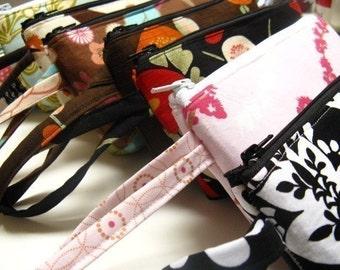 Custom wristlet wallet | Vegan wallet | Fabric wristlet | Clutch wallet | Wallet