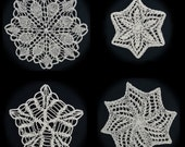 More Knit Snowflakes Pattern PDF