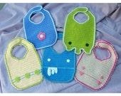 Crochet Baby Bib Pattern PDF